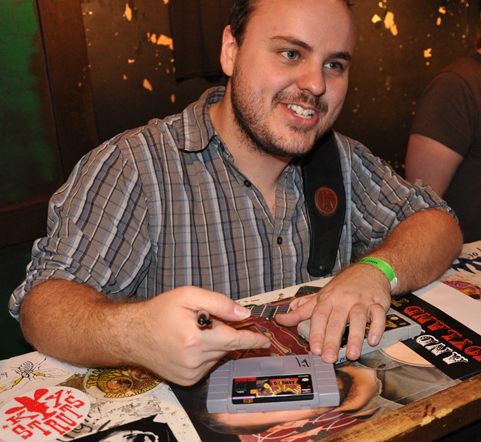 Andy McKee Signing A Shaq Fu